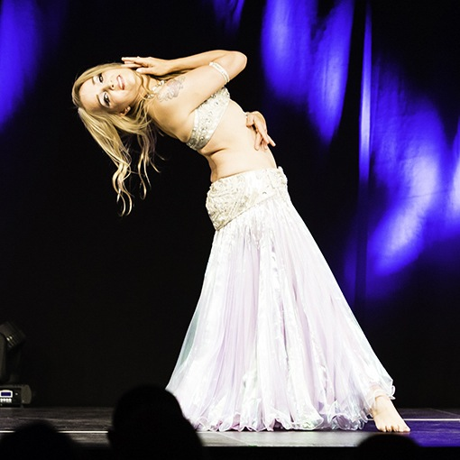 Annah at Danish Open Bellydance. Photo by Thomas Buschberg.